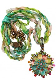 Michal Negrin Retro Summer Pendant Necklace
