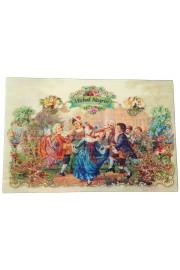 Michal Negrin Baroque Dance Lenticular Postcard