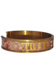 "Michal Negrin ""I'll Be There For You"" Pink Bracelet"