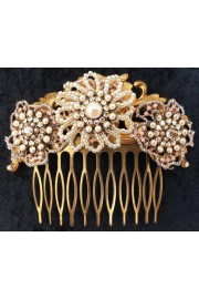 Michal Negrin Antique Pearl Hair Comb