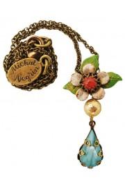 Michal Negrin Vintage Flower Pendant Necklace
