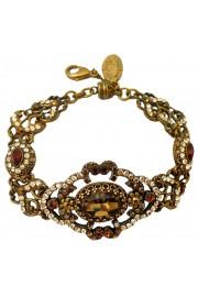 Michal Negrin Bronze Swarovski Crystals Bracelet