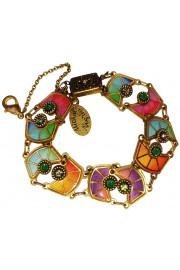 Michal Negrin Multicolor Vitrage Inspired Bracelet