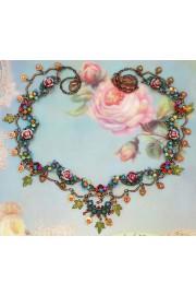 Michal Negrin Multicolor Spring Garden Necklace