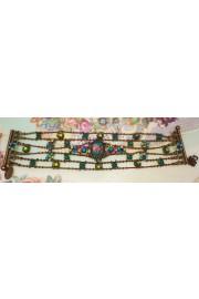 Michal Negrin Multicolor Web Bracelet