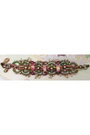 Michal Negrin Murano Flower Beads Bracelet