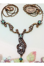 Michal Negrin Arabesque Inspired Crystal Necklace