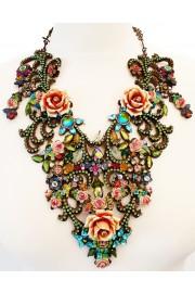 Michal Negrin Multicolor Baroque Necklace