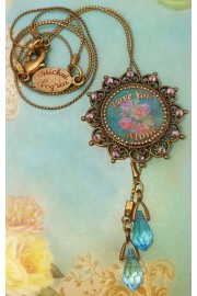 Michal Negrin Love You Mom Necklace