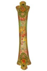 Michal Negrin Multicolor Victorian Pattern Mezuzah Case