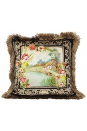 Michal Negrin Pastoral Velvet Cushion Cover