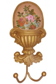 Michal Negrin Pink Roses Wall Hanger