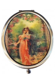 Michal Negrin Victorian Romance Compact Mirror