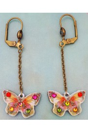 Michal Negrin Butterfly Drop Earrings