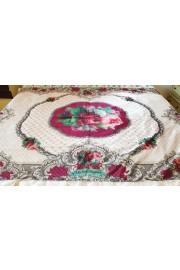Michal Negrin Velvet Roses Tablecloth