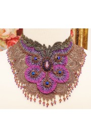 Michal Negrin Purple Gala Necklace