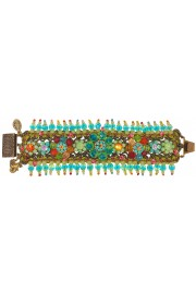 Michal Negrin Multicolor Beaded lace Bracelet
