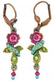Michal Negrin Delicate Flower Earrings