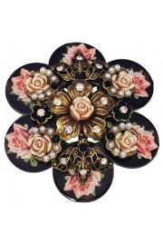 Michal Negrin Elaborate Flower Brooch