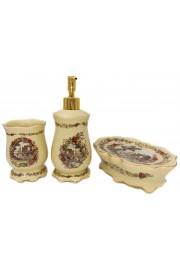 Michal Negrin 3-Piece Porcelain Bathroom Accessories Set