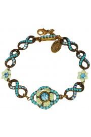 Michal Negrin Aqua Infinity Bracelet