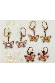 Michal Negrin 3 Pairs of Butterfly Earrings