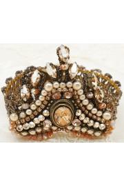 Michal Negrin Pearl Peach Art Deco Bracelet