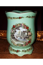 Michal Negrin Green Porcelain Tumbler
