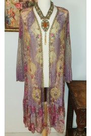 Michal Negrin Lace Duster