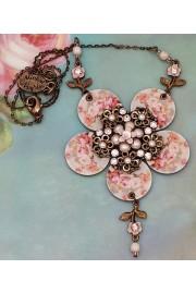 Michal Negrin Retro Flower Necklace
