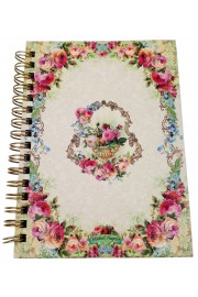Michal Negrin Small Spiral Hardcover Notebook