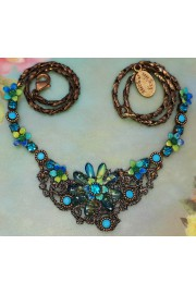 Michal Negrin Turquoise Frost Necklace