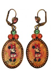 Michal Negrin X Disney Minnie Mouse Cameo Earrings
