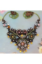 Michal Negrin Edwardian Lace Necklace