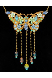 Michal Negrin Art Nouveau Butterfly Necklace