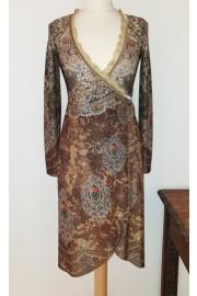 Michal Negrin Wrap Dress
