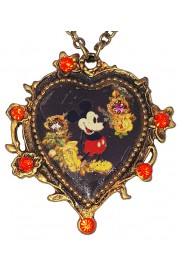 Michal Negrin x Disney Mickey Mouse Heart Necklace