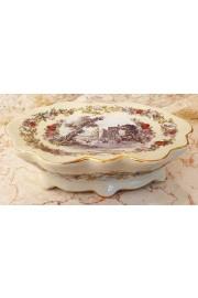 Michal Negrin Porcelain Soap Bar Raised Dish
