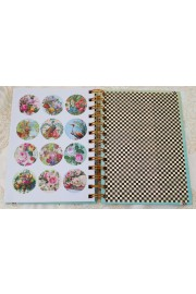 Michal Negrin Spiral Notebook with Stickers