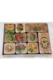 Michal Negrin Floral Refrigerator Magnets Set