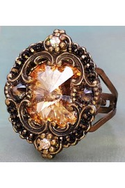 Michal Negrin Gold Crystal Ring