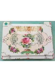 Michal Negrin 10 Greeting Cards Roses Set
