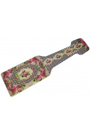 Michal Negrin Checkered Luggage tag