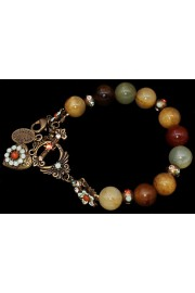 Michal Negrin Natural Stones Earth Tones Bracelet