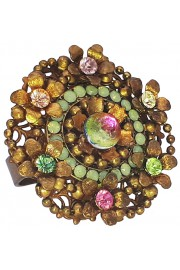 Michal Negrin Gold Flower Cluster Ring