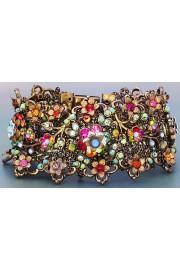Michal Negrin Multicolor Embellished Lace Bracelet