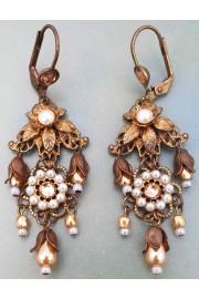 Michal Negrin Victorian Pearl Earrings