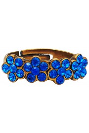 Michal Negrin Blue Row Ring