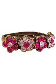 Michal Negrin Fuchsia Lilac Row Ring