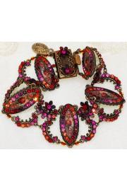 Michal Negrin Red Purple Fuchsia Victorian Bracelet